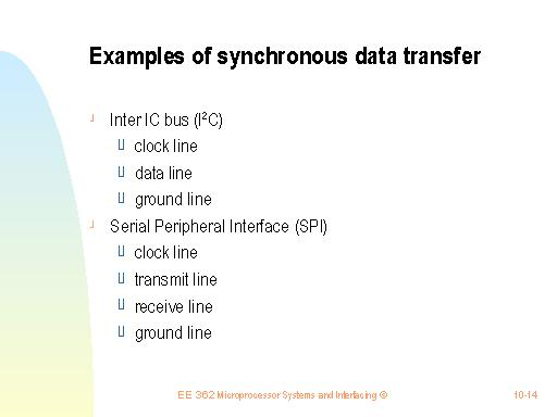 the many faces of asynchronous transfer