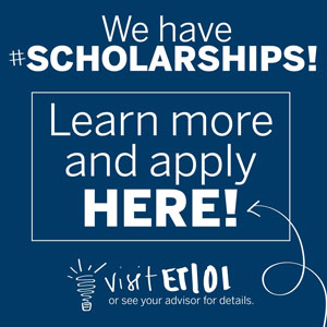 Scholarship information page.